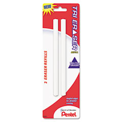 Refills for Tri Eraser, White, 2/Pack
