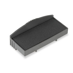 P12 Self-Inking Stamp Replacement Pad, Black