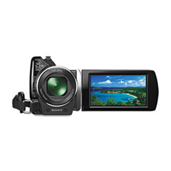 HDR-XR150 Handycam High-Definition Camcorder, 120GB Hard Disk Drive, 3MP