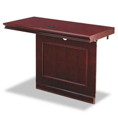 Orion Collection Single Pedestal Return, Right, 48w x 24d x 30h, Cherry