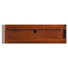 Sorrento Letter Hutch Trays, 16ᄒw x 13d x 2ᄒh, Bourbon Cherry, 2/Set