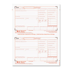 Tax Forms/W-2 Tax Forms Kit with 24 Forms, 24 Envelopes, 1 Form W-3