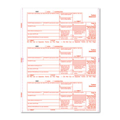 IRS Approved 1098T Tax Forms, Carbonless Duplicate, 2,000 Forms