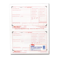 W-2 Tax Form, 8-Part Carbonless, 50 Forms
