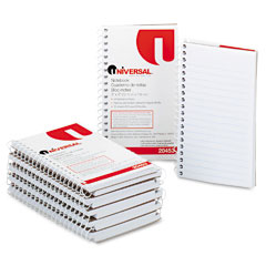 Wirebound Memo Books, Narrow Rule, 5 x 3, White, 12 50-Sheet Pads/Pack