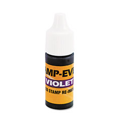 Refill Ink for Clik! & Universal Stamps, 7ml-Bottle, Violet