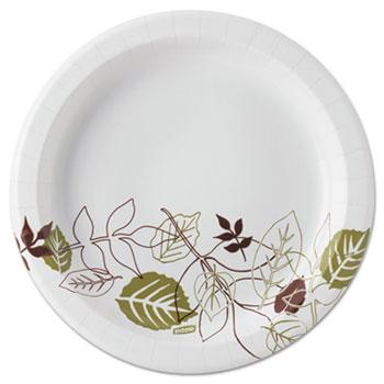 White /& Green Plates Red 8//Pkg