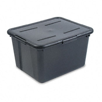 Molded carry handles make for easy transportation. Built-in rails hold letter or legal size hanging file folders (not included). Box Style Portable Storage ...  sc 1 st  Dakota Business Center & ADVANTUS CORPORATION - File Tote Storage Box w/Lid Legal/Letter ...