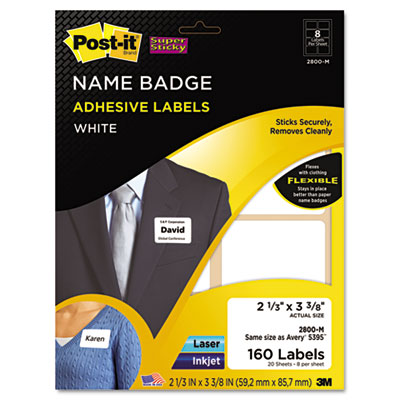 Post-it® Super Sticky Name Badge Labels | Select Office Products