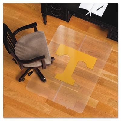 Collegiate Chair Mat for Hard Floors, 36 x 48, Tennessee Volunteers