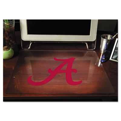 """Collegiate Desk Pad, U of Alabama """"A"""", Red, Plastic, 19 x 24"""