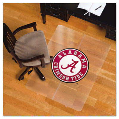 Collegiate Chair Mat for Hard Floors, 36 x 48, Alabama Crimson Tide
