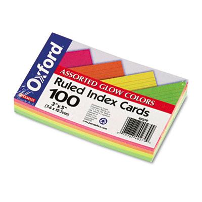 3 x 4 index cards