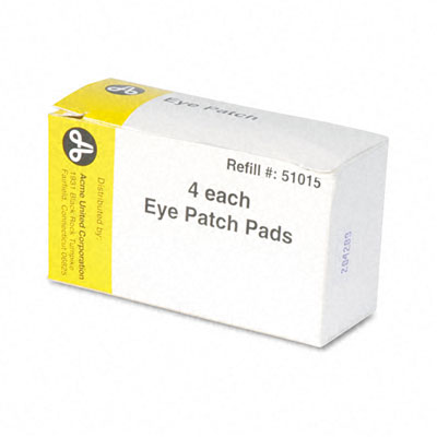 Eye Patch, 2 x3, 4 Patches/Box