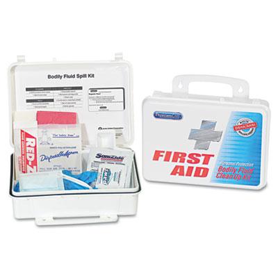 Bloodborne Pathogen Kit, OSHA/ANSI Compliant, Plastic Case - ACM91100