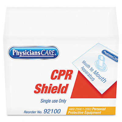 CPR Shield, Clear, Plastic