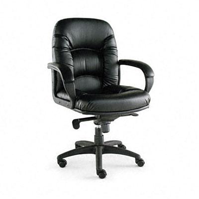 Nico Mid-Back Swivel/Tilt Chair, Black