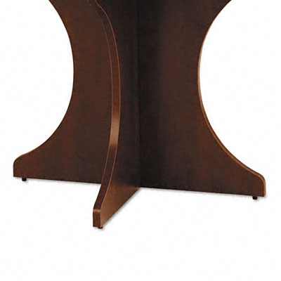 Valencia Series Sculpted Base Kit, 30w x 15d x 28-1/2h, Mahogany