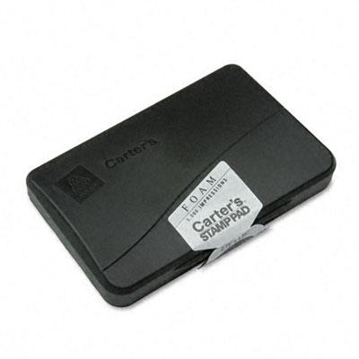 Foam Stamp Pad, 4.25w x 2.75d, Black