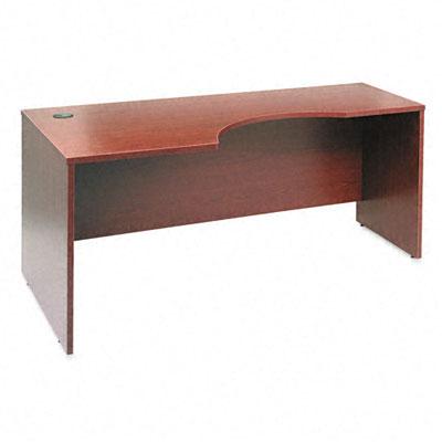 Series C Left Corner Desk Module, 71w x 35-1/2d x 29-7/8h, Mahogany