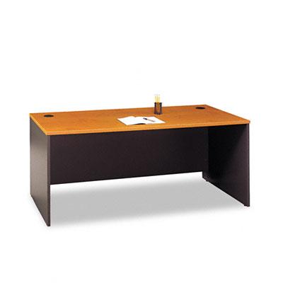 Series C Rectangular Desk, 72w x 29-3/8d x 29-7/8h, Natural Cherry
