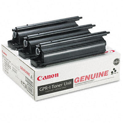 1390A003AA (GPR-1) Toner, 33000 Page-Yield, 3/Pack, Black