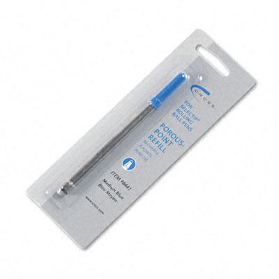 Refill for Selectip Porous Point Pens, Medium, Blue Ink