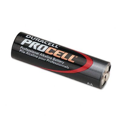 Procell Alkaline Battery, AA, 24/Box - DURPC1500BKD