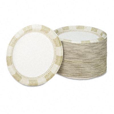 DIXIE FOOD SERVICE SXP10SAGE Paper Plates, 10