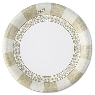 DIXIE FOOD SERVICE UX6SAGECT Paper Plates, 6