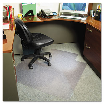 AnchorBar Professional Series Chair Mats for Carpet, Lip, 36w x 48l, Clear