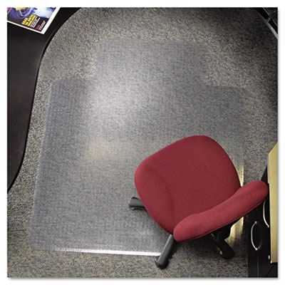 AnchorBar 24-Hour Executive Series Chairmat for Carpet, Lip, 45w x 53l, Clear