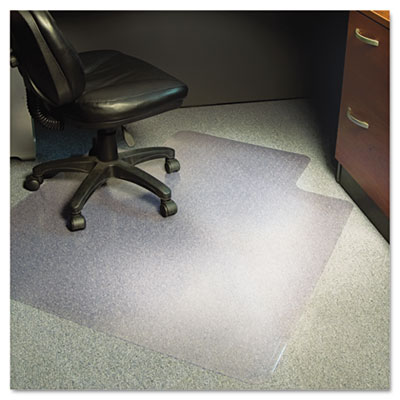 AnchorBar Multi-Task Intermediate Chair Mat for Carpet, Lip, 36w x 48l, Clear