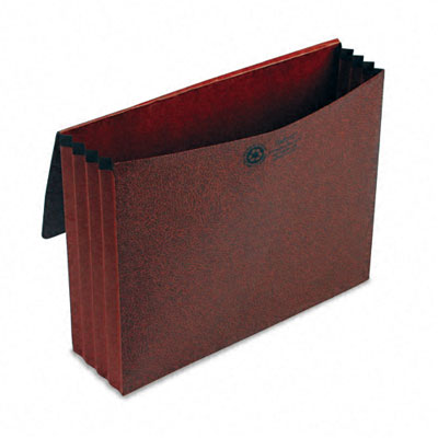3 1/2 in Expansion Standard Wallet, Red Fiber, Letter, Red - ESS1053ELOX