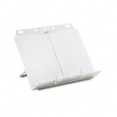 BookLift Adjustable Desktop Copyholder, Plastic, Platinum
