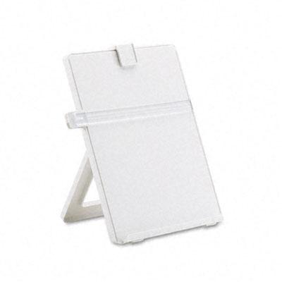 Non-Magnetic Letter-Size Desktop Copyholder, Plastic, Platinum