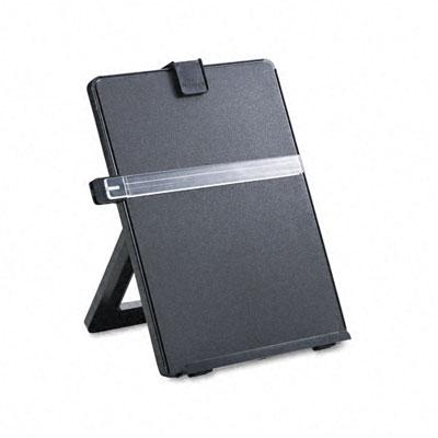 Non-Magnetic Legal-Size Desktop Copyholder, Plastic, Black