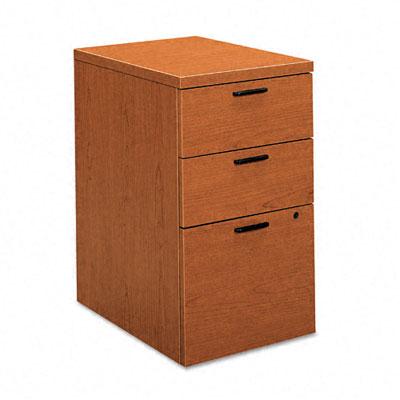 10500 Series Box/Box/File Mobile Pedestal, 15-3/4w x 22-3/4d x 28h, Bourbon CY