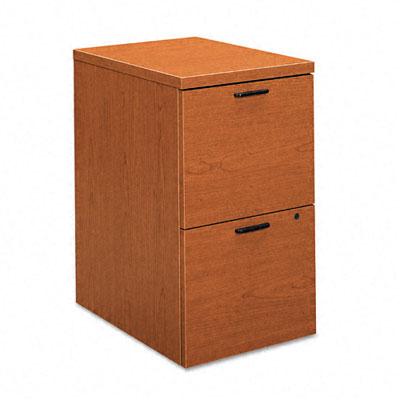 10500 Series File/File Mobile Pedestal, 15-3/4w x 22-3/4d x 28h, Bourbon Cherry