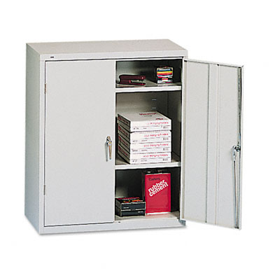 Assembled Storage Cabinet, 36w x 18d x 41 3/4h, Light Gray - HONSC1842Q