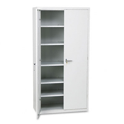 Assembled Storage Cabinet, 36w x 18-1/4d x 71-3/4h, Gray - HONSC1872Q