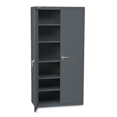 Assembled Storage Cabinet, 36w x 18-1/4d x 71-3/4h, Charcoal - HONSC1872S