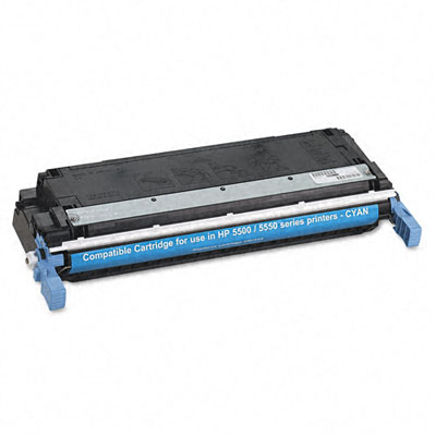 83731 Compatible Remanufactured Toner, 12000 Page-Yield, Cyan