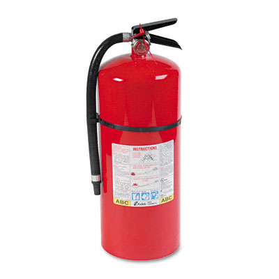 Pro Line Tri-Class Dry Chemical Fire Extinguishers, Charge Weight 18 lbs. - KID466206