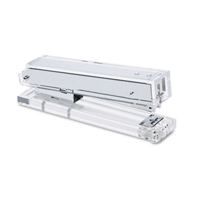 Clear Acrylic Stapler, Sheet Capacity, Clear - KTKAD80