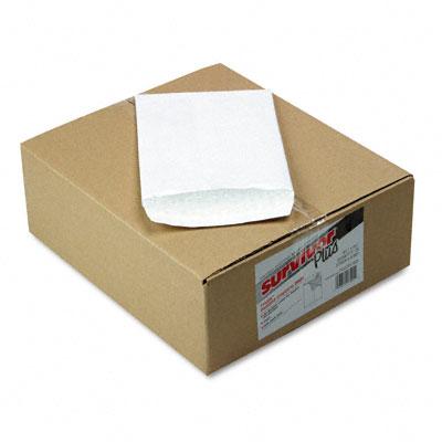 Tyvek Air Bubble Mailer, Self-Seal, Side Seam, 6 1/2 x 9 1/2, White, 25/Box