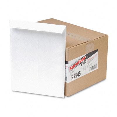 Tyvek Air Bubble Mailer, Self-Seal, Side Seam, 10 x 13, White, 25/Box