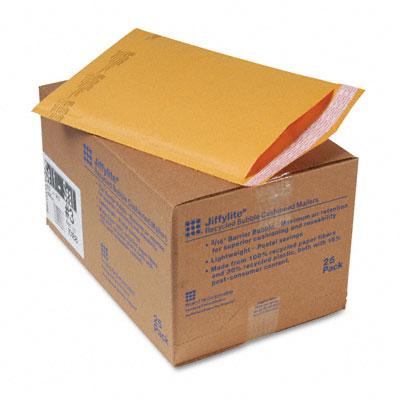Jiffylite Self-Seal Mailer, #3, 8 1/2 x 14 1/2, Golden Brown, 25/Carton