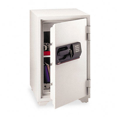 Commercial Safe, 3 ft3, 20-1/2w x 22d x 34-1/2h, Light Gray