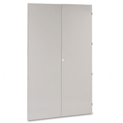 78 High Jumbo Cabinets, Box 1 of 2, 48w x 24d x 78h, Light Gray - TNNJ478LG